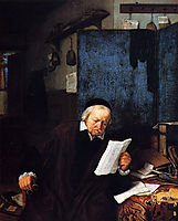 Lawyer in His Study, 1637, ostadeadriaen