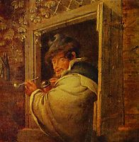 A Man in the Window, ostadeadriaen
