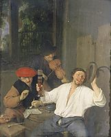 The Merry Drinkers, 1659, ostadeadriaen