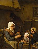 Peasant Family, 1667, ostadeadriaen