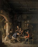 Peasants in an Inn, ostadeadriaen