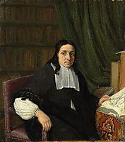Portrait of a Scholar, 1665, ostadeadriaen