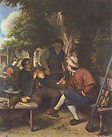 Resting Travellers, 1671, ostadeadriaen