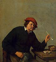 Smoker, c.1655, ostadeadriaen