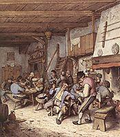 Tavern Interior, 1680, ostadeadriaen