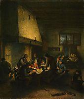 Tavern Scene, c.1665, ostadeadriaen