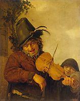 Wandering Musician, 1648, ostadeadriaen
