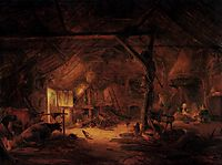 Barn Interior, 1645, ostadeisaac