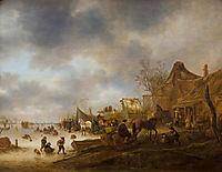Winter Landscape, 1645, ostadeisaac