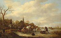 Winter Landscape, 1643, ostadeisaac