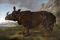Clara the Rhinoceros, 1749, oudry