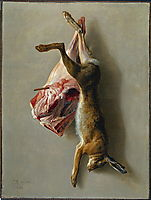 A Hare and a Leg of Lamb, 1742, oudry