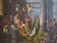 Adoration of the Shepherds, Adoration of the Magi, 1755, panini