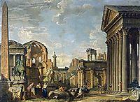 Architectural Capriccio, 1730, panini