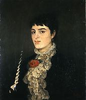 Portrait of Varvogli, 1875, pantazis