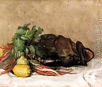 Still Life With Fish And Vegetables, pantazis