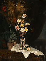 Still life with flowers, 1877, pantazis