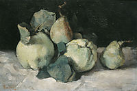 Still life with quinces, 1880, pantazis