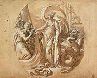 Circe and the Companions of Ulysses, c.1527, parmigianino