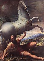 The Conversion Of St Paul, 1528, parmigianino