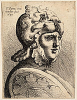 Helmet shaped like lion, parmigianino