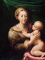 Madonna and Child, c.1527, parmigianino
