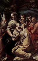 Madonna and Child with Saints, c.1529, parmigianino