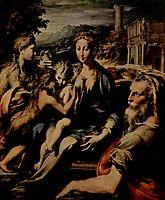 Madonna with Saint Zacharias, 1530, parmigianino