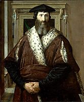 Malatesta Baglioni, c.1537, parmigianino