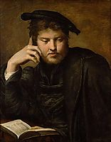 Man with a Book, 1526, parmigianino