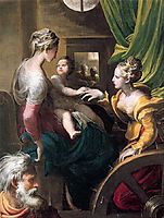Mystic Marriage of Saint Catherine, 1531, parmigianino