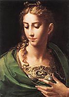 Pallas Athene, c.1539, parmigianino