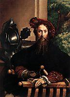 Portraitof Gian Galeazzo Sanvitale, 1529, parmigianino