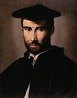 Portrait of a Man, 1530, parmigianino