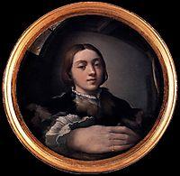Self-portrait in a Convex Mirror, c.1524, parmigianino