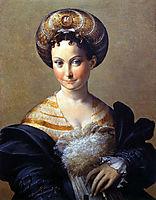 A Turkish Slave, parmigianino