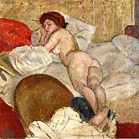 In the Hotel Room, 1908, pascin