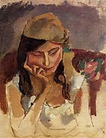Lady Wearing a Turban, 1907, pascin