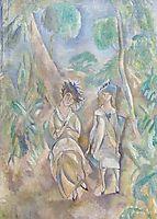 Printemps, 1917, pascin