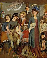 The Turkish Family, 1907, pascin