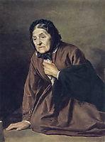 An Old, 1874, perov