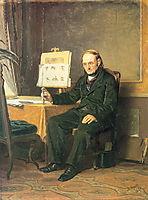 Art teacher , 1867, perov