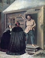 Caretaker Letting an Apartment to a Lady, perov