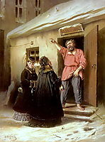 Caretaker-Letting-an-Apartment-to-a-Lady, 1878, perov