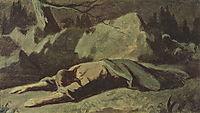 Christ in Gethsemane , perov