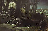 Christ in Gethsemane , 1878, perov