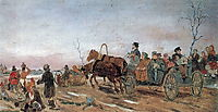 Evening on Holy Saturday , 1873, perov
