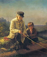 Fishing , perov