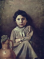 Girl with a Pitcher, perov