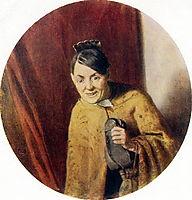 Gossip , 1875, perov